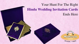 Hindu Marriage Invitations
