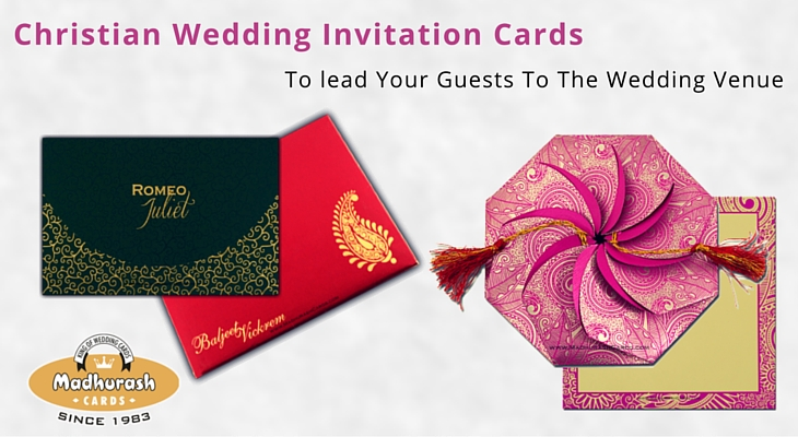 Christian wedding invitation cards madhurash cards christian wedding invitation cards stopboris Image collections